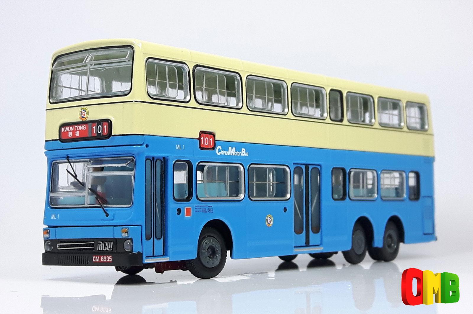 000803 Abc Models Mcw Metrobus China Motor Bus