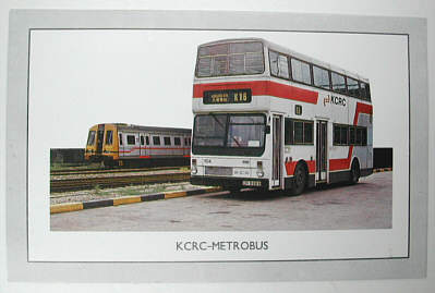 91710 Mcw Metrobus Kowloon Canton Railway Corporation