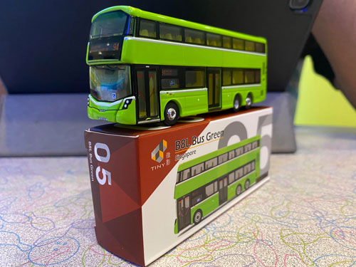 Tiny City 1//110 CMB Last Volvo Olympian Bus VA64 Special Edition