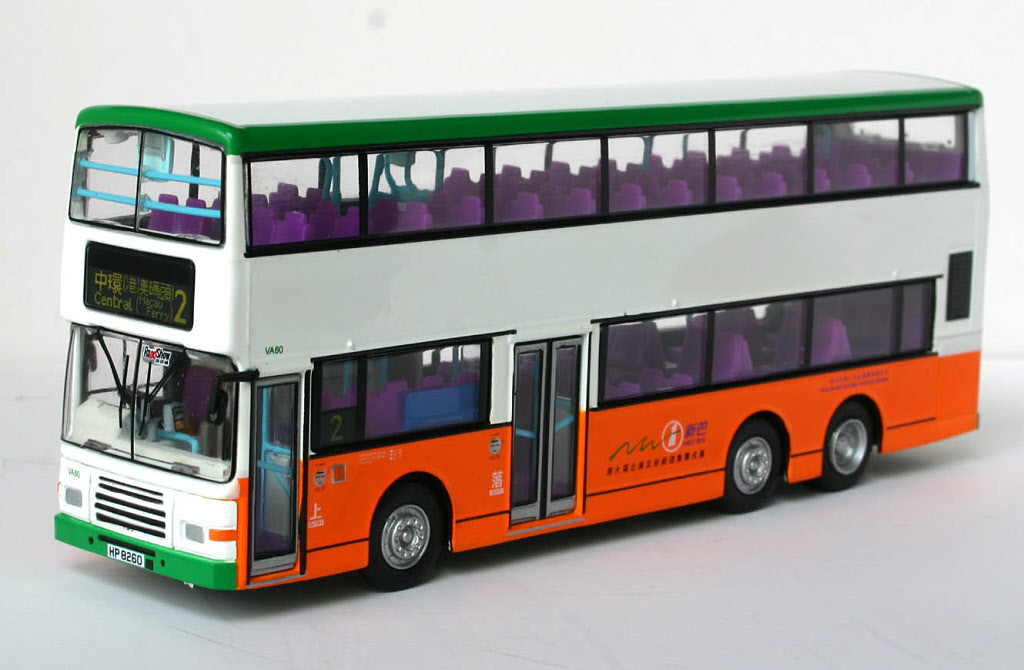 92204 80m bus model shop volvo olympian new world first bus
